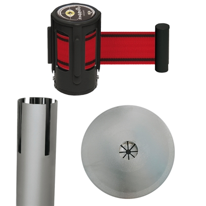 Set stopper eco silber-rot